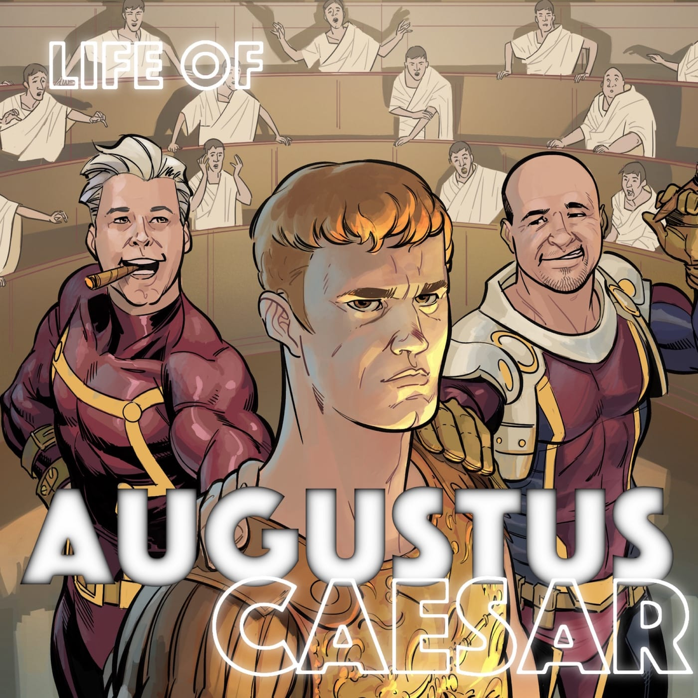 life of augustus The deeds of the divine augustus by augustus, part of the internet classics archive in fulfillment of these vows they often celebrated games for my life.