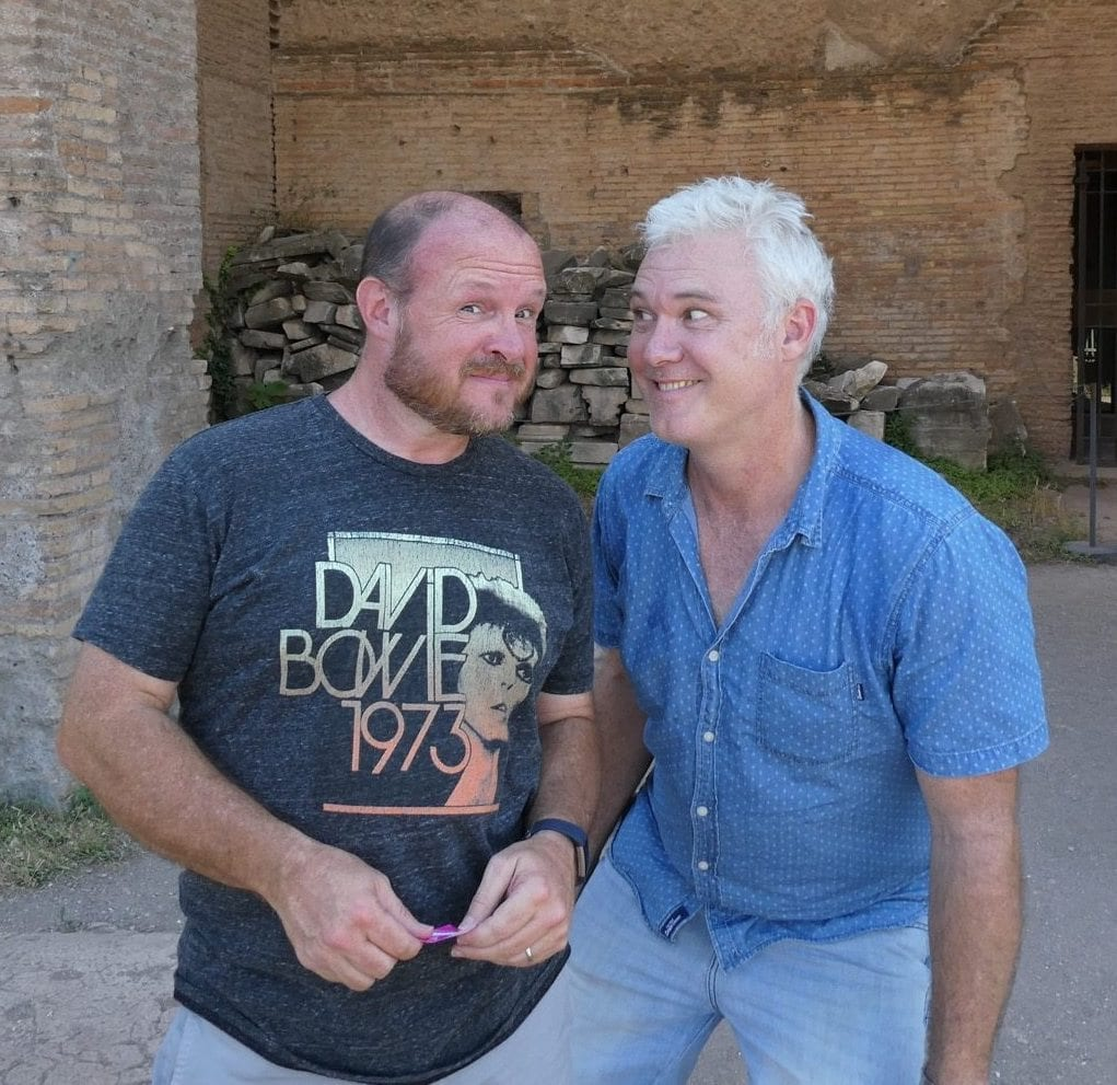 ray and cam on palatine hill